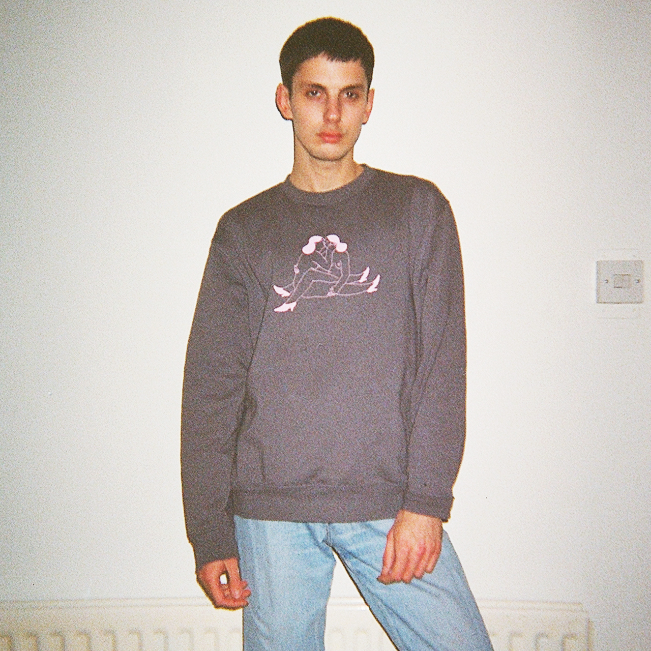 'Study' Sweatshirt – Grey